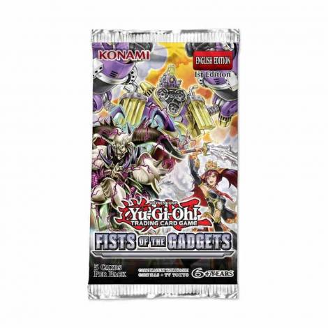 YuGiOh! Shonen Jump - Fist Of The Gadgets Booster Pack