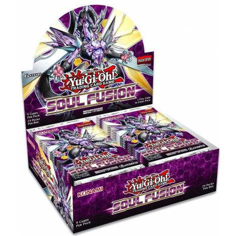 YUGIOH! : SOUL FUSION BOOSTER DISPLAY