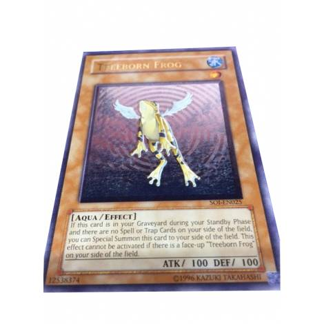 YuGiOh ! Treeborn Frog Ultimate Rare SOI-EN025