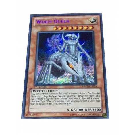 YuGiOh ! Worm Queen Secret Rare HA02-EN054 1st Ed Yu-Gi-Oh
