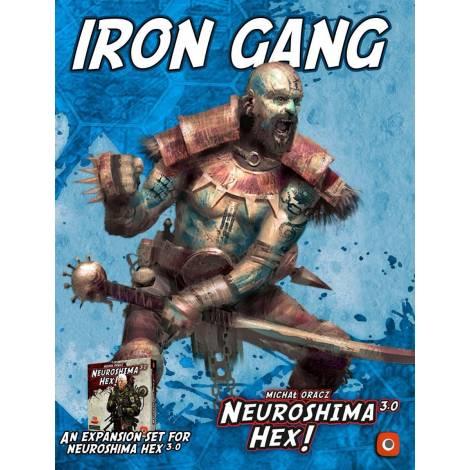 (ΚΑΙΣΣΑ) Portal Games NEUROSHIMA HEX 3.0:IRON GANG (exp)