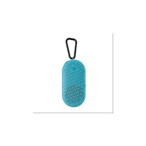ZAGG ACTION MINI SPEAKER W/MIC TEAL ZAGG AUDIO