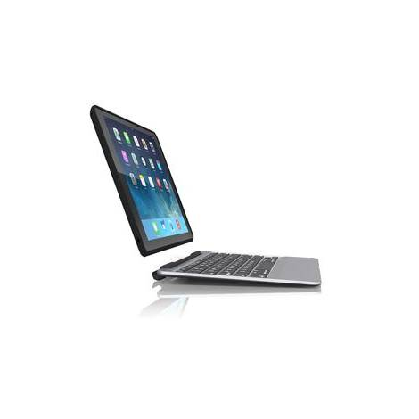 Zagg Slim Book Case Black With Keyboard For iPad Air 2 (ID6ZF2-BBU)