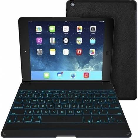 ZAGGkeys Folio Black with Backlit Keyboard (Apple iPad Air 2) (ID6ZFK-BB0)