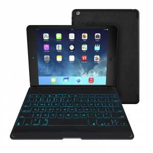 ZAGGkeys Folio Black with Backlit Keyboard (Apple iPad Air) (ZKFHFBKLIT105)