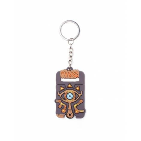Zelda - Sheikah Slate Pendant Rubber Keychain (KE142705BOW)